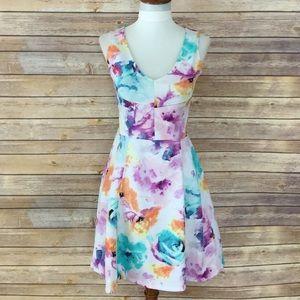 Floral spring dress 🌺🌷🌸